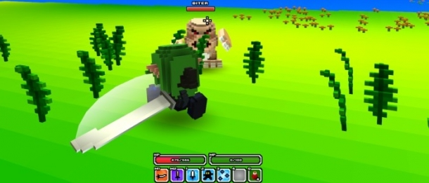 how to give items in cube world