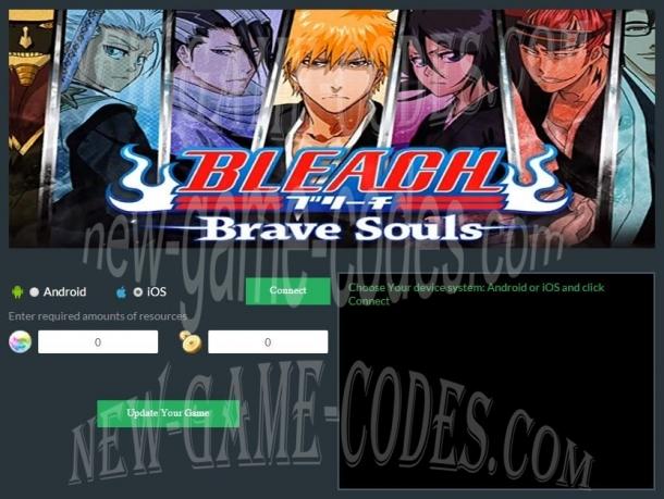 bleach brave souls online generator