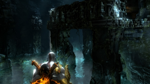 god of war 3 labyrinth walkthrough