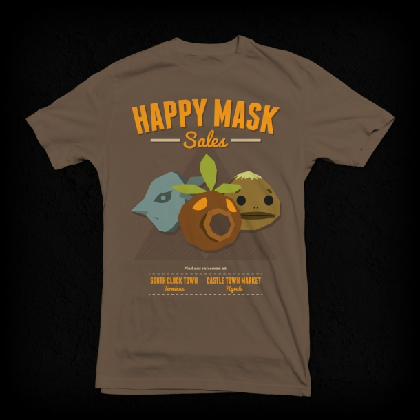 Our Latest T Shirt Design Happy Mask Sales Inspired By