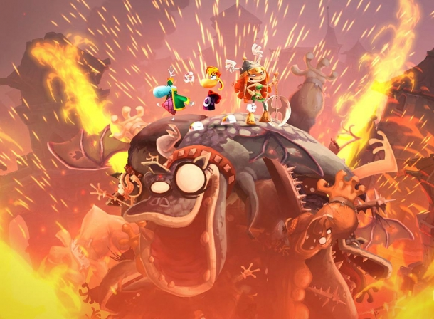 Rayman Legends Announced For Ps4 And Xbox One Due