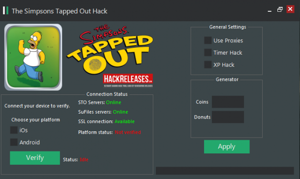Simpsons Tapped Out Cheats Donuts Hack Simpsons Tapped Out Apps
